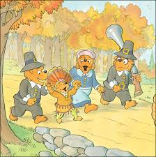 the berenstain bears give thanks jan mike berenstain