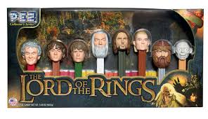gifts for lord of the rings fans pez the lord of the rings gift set is here hobbit movie news and
