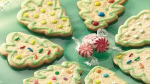 christmas tree cookies recipe bettycrocker com