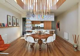 Private Dining Room Melbourne Architecture Dining Room Colorful Refurbished Home By Fmd