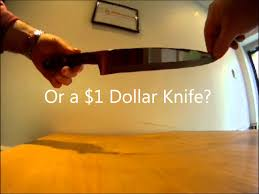 Katana Kitchen Knives The Sharpest Knife In The World Youtube