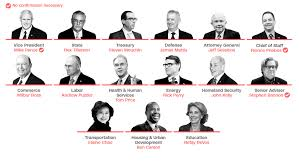 Who Leads Cabinet Meetings Donald Trump U0027s Cabinet A Boon For Conservatives Not Populists