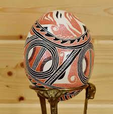 painted ostrich eggs for sale painted ostrich egg sw5212 on sale safariworks taxidermy sales