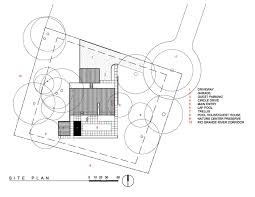House Site Plan by Gallery Of Flyway View House Jon Anderson Architecture 18
