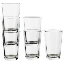 cool glassware glasses carafes u0026 glassware sets ikea