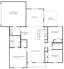 the berkshire floor plan amhurst danric homes