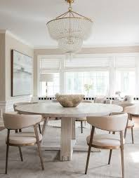 Large Round Dining Room Tables Best 25 Round Dining Tables Ideas On Pinterest Round Dining