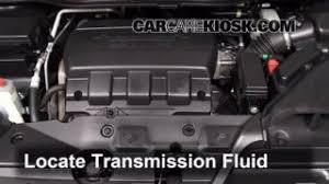honda odyssey transmission transmission fluid level check honda odyssey 2011 2016 2011