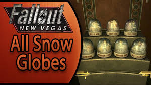 Fallout New Vegas Map Locations by Fallout New Vegas All Snow Globe Locations Globe Trotter
