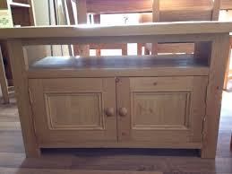 2 Door Tv Cabinet Tv Units Hifi Storage Cd Racks Cleveland Pine Oak Quality