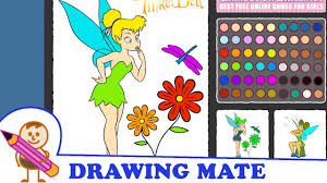 tinkerbell coloring pages colouring book game kolorowanki