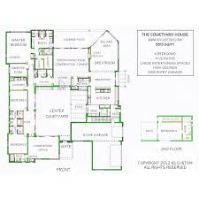U Shaped House Plans With Pool In Middle Best 25 Interior Courtyard House Plans Ideas On Pinterest