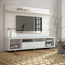cabinet nice white floating tv stand with beige pattern rugs on