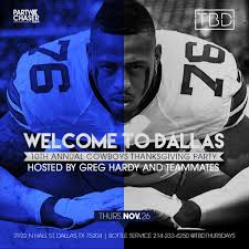 what jersey will the cowboys wear on thanksgiving dallas cowboys cowboys u0027 greg hardy is hosting a post thanksgiving