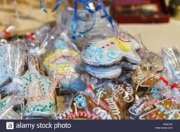 gingerbread as souvenir gifts on the vilnius christmas market
