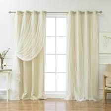White Energy Efficient Curtains Curtains U0026 Drapes Joss U0026 Main