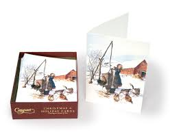 caspari cards caspari boxed christmas card longings fulfilled tudor and