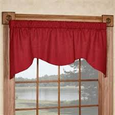 Solid Color Valances For Windows Window Valances Touch Of Class