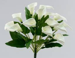 silk calla lilies calla silk wedding flowers