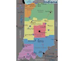 Kentucky Map Usa by Maps Of Indiana State Collection Of Detailed Maps Of Indiana