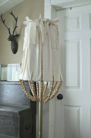 Chandelier Wire Earrings Thesecretconsul Com Jen Widner Lifestyle Blog Diy Wood Bead Lamp Shade With Regard To
