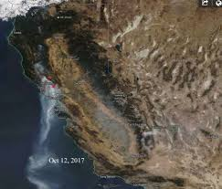 California Wildfires Ventura County by Map U2013 Wildfire Today