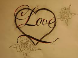 heart love drawing sketch with pencil cute love sketches cute