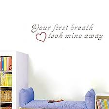 Nursery Rhyme Wall Decals Popdecors Your Breath Took Mine Away