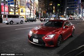 lexus rcf the lexus rc f means business speedhunters