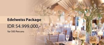 wedding cake balikpapan edelwiess wedding package royal suite hotel