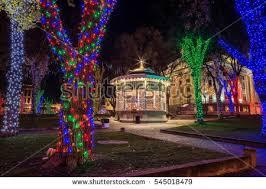 beautiful christmas lights display stock photo 42979060 shutterstock