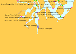Puget Sound Tide Table Olympia Washington Tide Chart