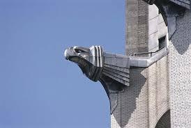 art deco gargoyle gargoyles from gothic garglers to grotesque