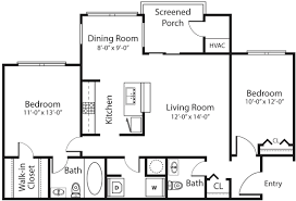 Galley Style Kitchen Floor Plans by The Villages Of Chapel Hill Apartments In Carrboro Nc 2 Miles