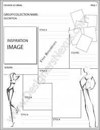 presentation board layout inspiration free templates fashion design portfolio layout mood board templates