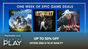 ps store black friday days of play sale save on games plus membership u0026 more