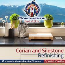 Silestone Bathroom Vanity by Continental Bath U0026 Tile Llc Corian And Silestone Refinishing