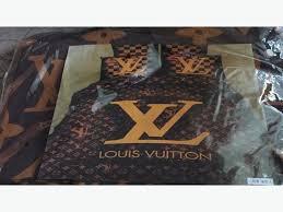 Louis Vuitton Bed Set Brown Louis Vuitton Bedding Set Size West Shore Langford