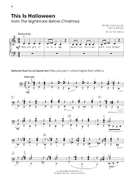 this is halloween sheet music pg 4 by noiporcs on deviantart