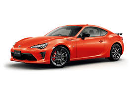 red orange cars toyota 86 gets high performance package solar orange limited