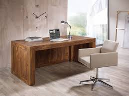 Schreibtisch Naturholz Büromöbel Mit Stil Massivum