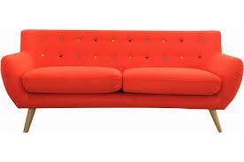 sofactory canapé canapé 3 places avec boutons multicolores design sur sofactory