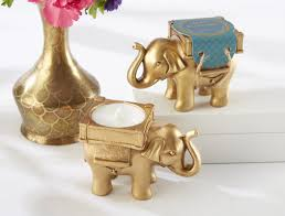 Porcelain Elephant World Menagerie Gold Elephant Tealight Holder U0026 Reviews Wayfair