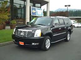 cadillac escalade esv 2007 sold 2007 cadillac escalade esv awd black enumclaw seattle