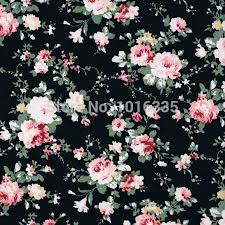 black roses for sale online shop hot sale black roses flowers 100 cotton fabric 2