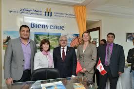 bureau d 騁ude casablanca l université de moncton ouvre un bureau à casablanca au maroc acufc