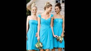 david u0027s bridal turquoise bridesmaid dresses 1 youtube