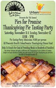 pies for promise pie tasting