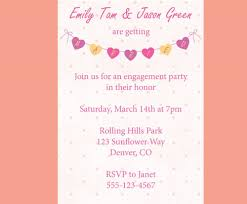 engagement party invitation wording enement party invitation wording no presents style by