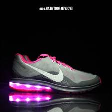 led lights shoes nike nike shoes with led lights 2 women s pink nike air max dynasty with
